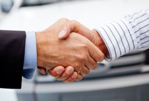 handshake after buying your car
